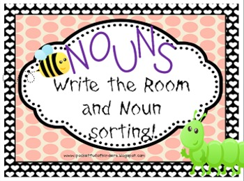 Nouns: Write the Room and Sorting