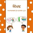 Nouns and Proper nouns for Grade 1 & 2