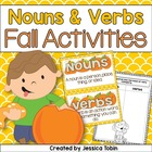 Nouns and Verbs Pumpkin Pack