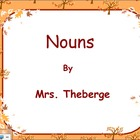 Nouns in the Fall SMART board activity