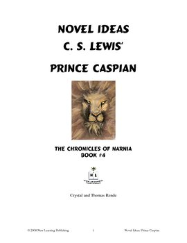 Novel Ideas: C. S. Lewis' Prince Caspian