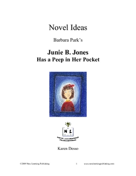 Novel Ideas: Junie B. Jones Has A Peep In Her Pocket