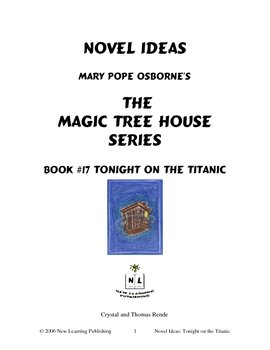 Novel Ideas: Magic Tree House #17: Tonight on the Titanic