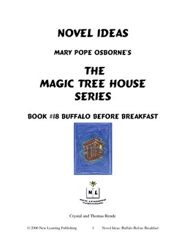 Novel Ideas: Magic Tree House #18: Buffalo Before Breakfast