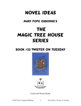 Novel Ideas: Magic Tree House #23: Twister on Tuesday