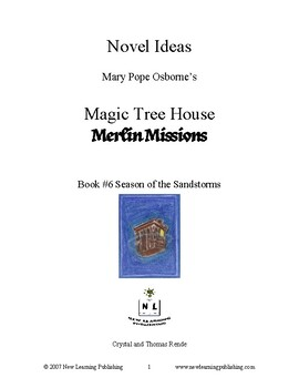 Novel Ideas: Magic Tree House #34: Season of the Sandstorms