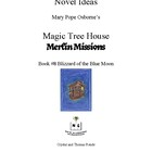 Novel Ideas: Magic Tree House #36: Blizzard of the Blue Moon