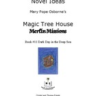 Novel Ideas: Magic Tree House #39: Dark Day in the Deep Sea