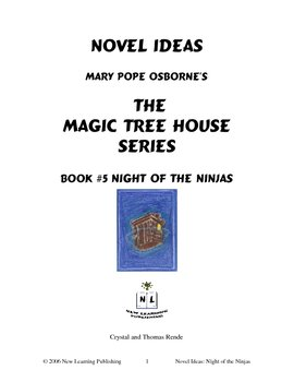 Novel Ideas: Magic Tree House #5: Night of the Ninjas