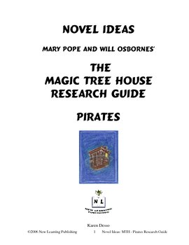 Novel Ideas: Magic Tree House Pirates Research Guide - Pirates