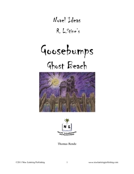 Novel Ideas - R.L.Stine's Goosebumps Ghost Beach
