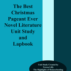 Novel Literature Unit Study and Lapbook: Best Christmas Pa