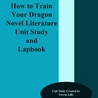 Novel Literature Unit Study and Lapbook: How to Train Your Dragon