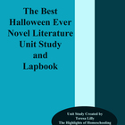Novel Literature Unit Study and Lapbook:The Best Halloween Ever