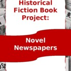 Novel Newspapers -Historical Fiction Book Project Letter a