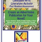 Novel Project for Post Novel Reading-Create a Publication!