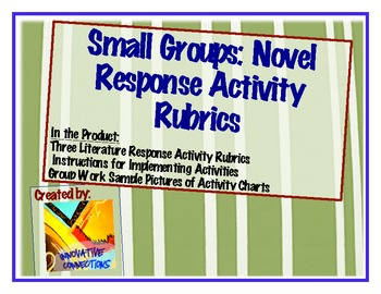 Novel Response Rubrics for 3 Small Group Task Meetings: Sa