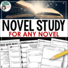 Novel Study Package - Can be used with ANY NOVEL.