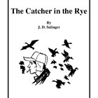 Novel Study, The Catcher in the Rye (by J.D. Salinger) Stu