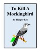 Novel Study, To Kill a Mockingbird Study Guide