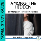 Novel Study for Margaret Peterson Haddix: Among the Hidden