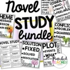 Novel Study/Core Literature: Resources for ANY Novel!