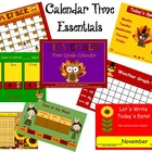 November 1st Grade Calendar for ActivBoard