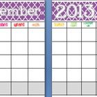 November 2013 Editable/Customizable Curriculum Planning Calendar