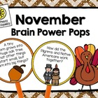 November Brain Power Pops