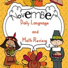 November Daily Language and Math Practice