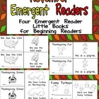 November Emergent Readers - A Book for Each Week- American