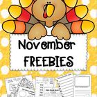 November FREEBIES!!!!!!