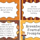 November Journal Prompt Cards
