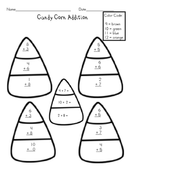 November Math Practice Worksheets