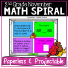 November Math Spiral Review