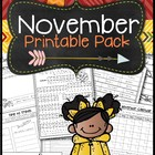 November Printable Pack