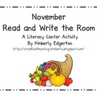 November Read and Write the Room