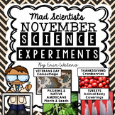 November Science Experiments & Activities