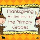 November ~ Thanksgiving Math and Literacy Activities for t