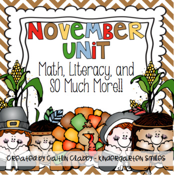 November Unit: Math, Literacy, and So Much More!