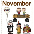 November Words Packet