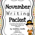 November Writing Packet