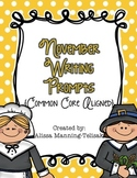 November Writing Prompts {Common Core Aligned}
