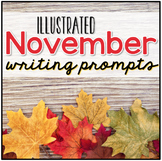 Festive Friday - November Writing Prompts - November Journ