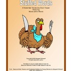 November/Thanksgiving Brain Teasers        Stuffed Words