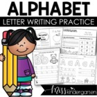 Now I Know My ABCs! {A-Z Practice Pages}