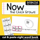 """Now the Chick Grows"" Interactive Sight Word Reader"