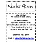 Number Action Game
