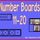 Number Boards 11-20