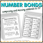 Number Bond Extra Practice Mini Unit - Singapore math